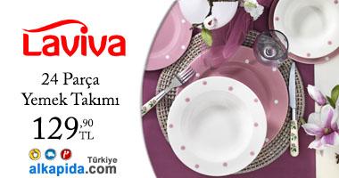 Laviva 24 Parça Yemek Takımı