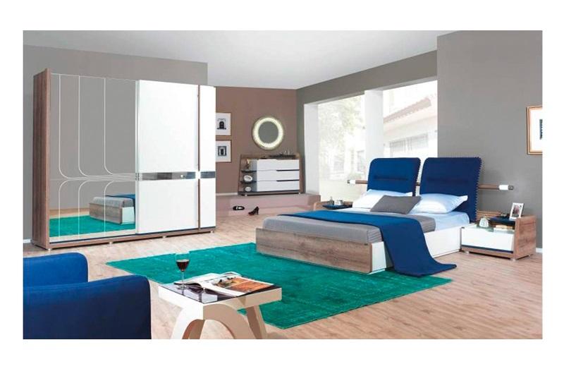 Aqua marin yatak odasi modeline ait detay sayfas for Wohndesign einrichtungs gmbh