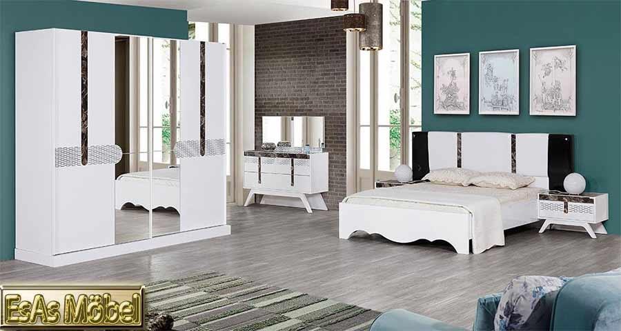 vizyon yatak odasi beyaz renk modeline ait detay sayfas. Black Bedroom Furniture Sets. Home Design Ideas