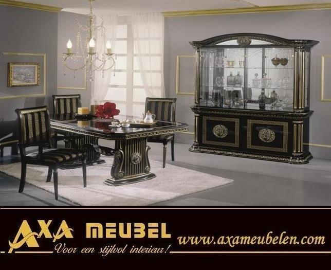 italyan tarz parlak klasik versace yemek odas 34 7863. Black Bedroom Furniture Sets. Home Design Ideas