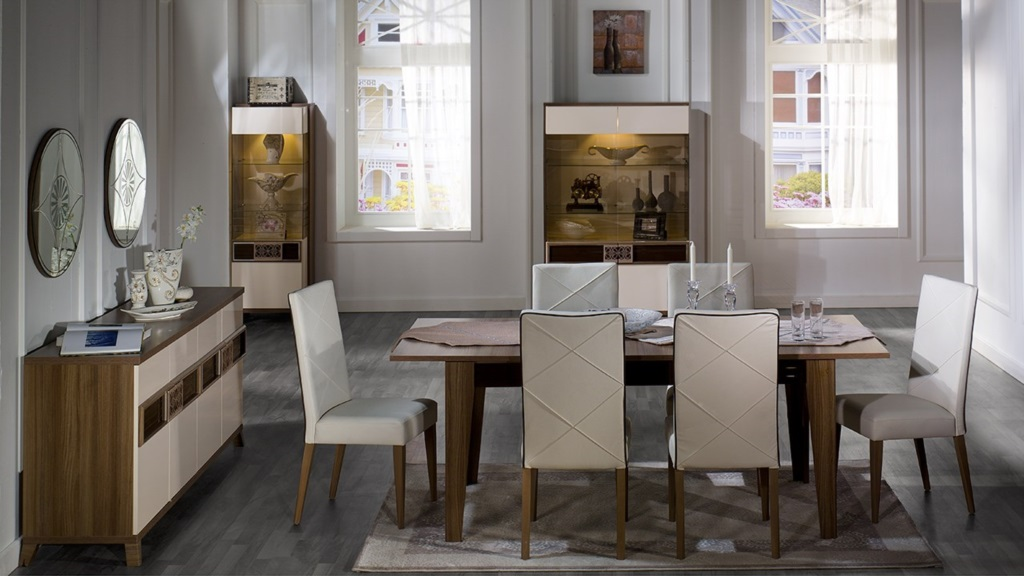 Stikbal otantik yemek odas tak m modeline ait detay for Salle a manger kitea maroc