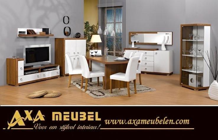Meubel Den Haag : Axa woiss meubelen modern duvar ünitesi alfemo resital yemek odası