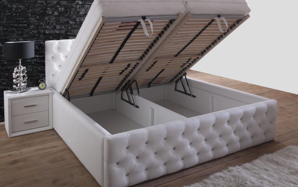 kristall polsterbett modeline ait detay sayfas. Black Bedroom Furniture Sets. Home Design Ideas