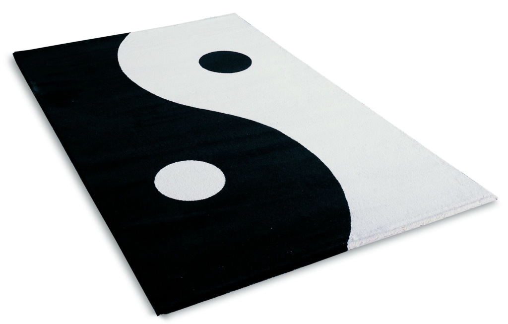 Ying Yang Rug Home Decor