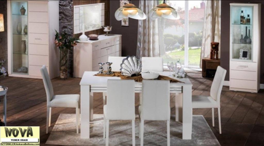 bellona ve minabella 2 magzamizla hizmetinizdeyiz nova yemek odasi takimi 1770 00. Black Bedroom Furniture Sets. Home Design Ideas