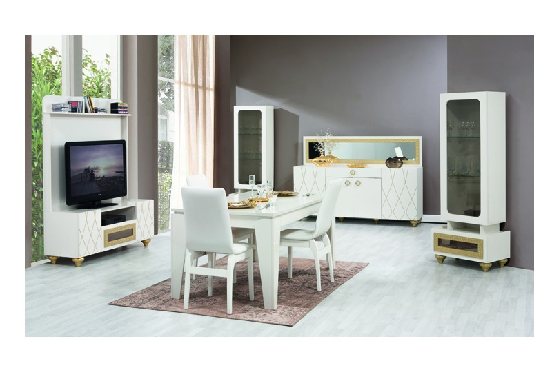 Saray yemek odasi modeline ait detay sayfas for Wohndesign einrichtungs gmbh