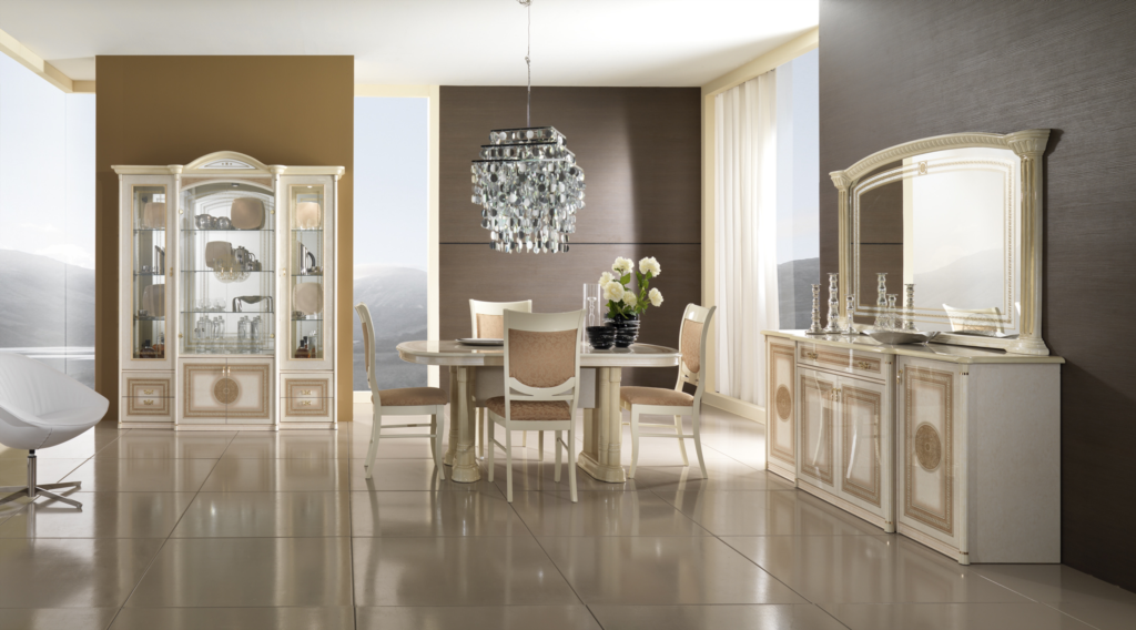 Alexandra yemek odasi takimi modeline ait detay sayfas for Meuble alsemberg