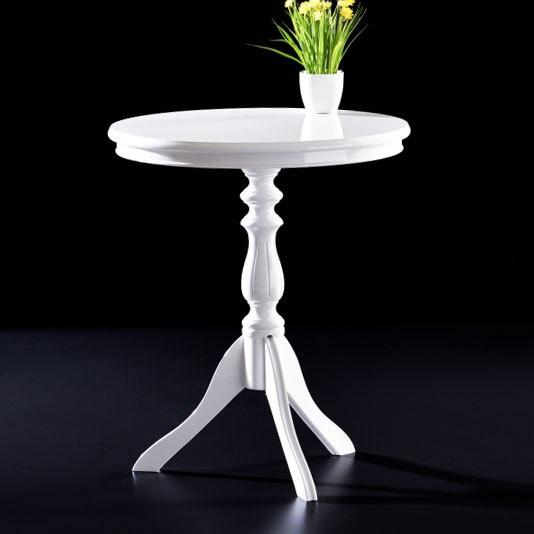 Grape Fiskos Sehpa Renk Secenekli Beyaz Ceviz Modeline Ait