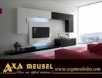 .AXA WOISS Meubelen / duvara monte edilebilen tv ünitesi yemek odası takımı 9 1305