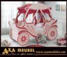.AXA WOISS Meubelen / prensese layık kız çocuk odası karyolası 15 1610