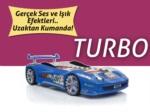 www.dekorsanal.com / Arabalı Yatak Turbo Mavi