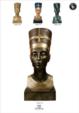 Moabiter Möbel / ÄGYPTISCHE RAMSES STATUE - Pharao Ägypten