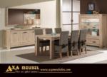 .AXA WOISS Meubelen / farklı bir tasrıma sahip meşe rengi yemek odası takımı