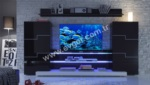 Mobilyalar / Delgado Siyah TV Ünitesi
