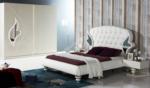 Yıldız Mobilya / Akabe Beyaz Yatak Odası