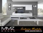 MMZ WONEN / modern oturma odasi takimi - duvar unitesi - orta masasi - televizyon sephasi - beyaz parlak