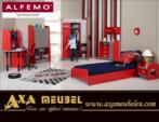 .AXA WOISS Meubelen / yarışçılara yakışır bir oda... CARS Şimşek Mc Queen çocuk odası