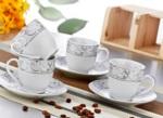Alkapıda.com / Zerden 12 Parça Porselen Çay Fincan Takımı 465