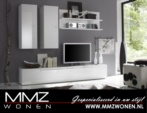 MMZ WONEN / Primo Ucuz Beyaz ve Siyah Televizyon Dolabi Asmali MDF Kalite - Estetik italyan design yüksek kalite