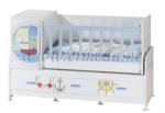 ERMODA Modüler Mobilya / Ermoda Sedef Sailor Special Asansörlü 60x120 Beşik