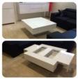 Konforsa Meubelen / Nieuw in de showroom! Hoogglans wit salontafels