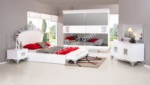 EVGÖR MOBİLYA / Barış Avangarde Yatak Odası