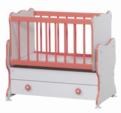 Cicila Bebe Genç Mobilyaları / MİDİ BEBEK KARYOLASI 50X85 Ş.PEMBE
