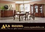 .AXA WOISS Meubelen / klasik parlak lux yemek odası takımı 55 7914