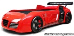 www.speedylifes.com / Audi v8 Arabalı Yatak Kırmızı
