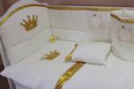 ALWAYS BABY / KRAL BEŞİK İÇİN UYKU SETİ sarı