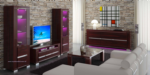 Royal Meubel & Bedden & Boxsprings / CHARME DIAMOND DUVAR UNITESI
