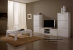 Royal Meubel & Bedden & Boxsprings / Full White Duvar Unitesi