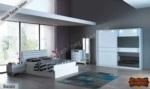 mobilyaminegolden.com / Nesa Gri Yatak Odası