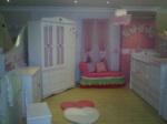 pati bebe & genç mobilya / kalpli bebek odası