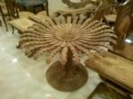 yildizhan antique & mobilya / ahşap çiçek masa