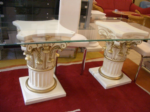 Moabiter Möbel / Esstisch,Yemekmasasi,medusa desenli cami,