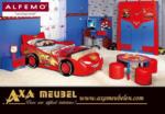 ****AXA WOISS Meubelen / Walt Disney Lisanslı Genç Alfemo, Şimşek Mc Queen cars karyola
