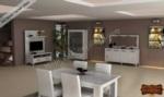 mobilyaminegolden.com / İnci Beyaz Yemek Odası