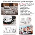 Alkapida.com Türkiye / Noble Life 266 Parça Çeyiz Kampanyası