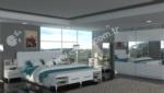 Mobilyalar / Valentino Beyaz Yatak Odası