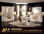.AXA WOISS Meubelen / parlak lüks yemek odası takımı - oturma odası