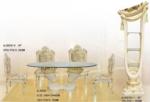 .EUROELIT MÖBEL / Barok elegant Yemek  Grubu