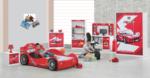 Cicila Bebe Genç Mobilyaları / CİCİLA ROKET ARABALI KIRMIZI TAKIM