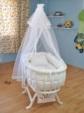 bebekonfor bebek beşikleri / Beyaz İtalyan Uyku Seti beşik hariç