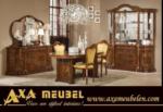 .AXA WOISS Meubelen / klasik fındık rengi italyan tarzı yemek odası takımı