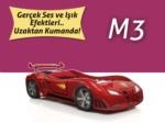 www.dekorsanal.com / M3 Arabalı Yatak - Kırmızı