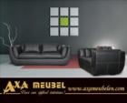 .AXA WOISS Meubelen / hakiki deri lerona deri koltuk takımı oturma grubu