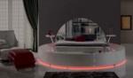 Yıldız Mobilya / Capris Aynalı Bazalı Karyola