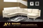 .AXA WOISS Meubelen / Modern ve şık tasarımlı hakiki deri köşe oturma grubu