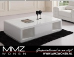 MMZ WONEN / Luks orta masasi modern design - Beyaz parlak Italyan